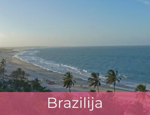 Kitesafari Brazilija