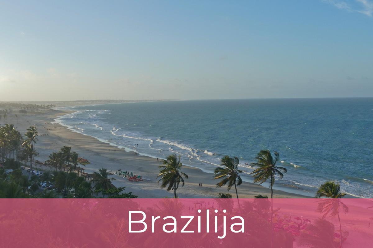 Kite potovanja, Brazilija