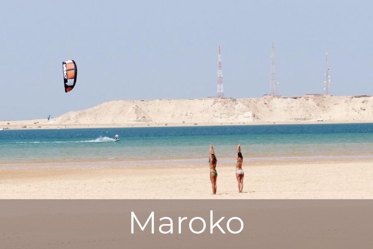 Kite potovanja, Maroko