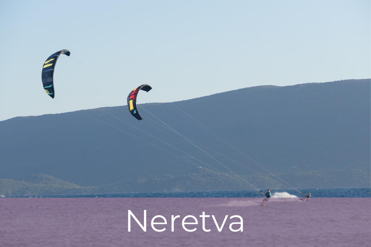 Kite potovanja, Neretva