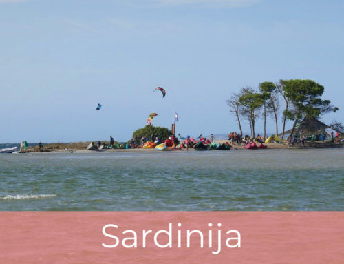 Kajtanje na Sardiniji