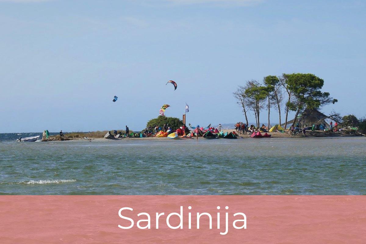 Kite potovanja, Sardinija