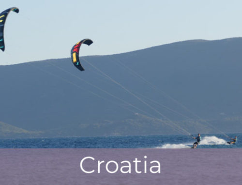 Kiteboarding in Croatia