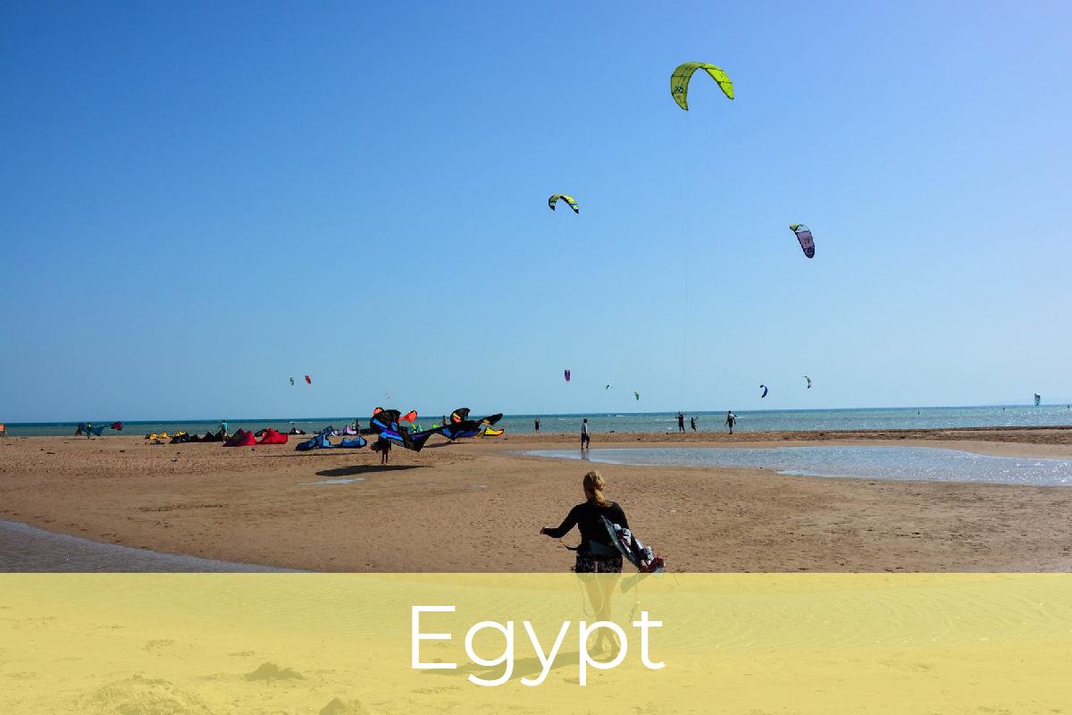 Kite potovanja, Egipt