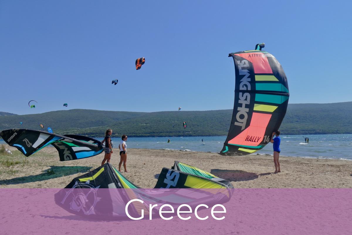 Kite potovanja, Grčija