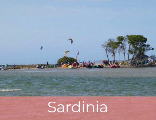 Kite trip to Sardinia
