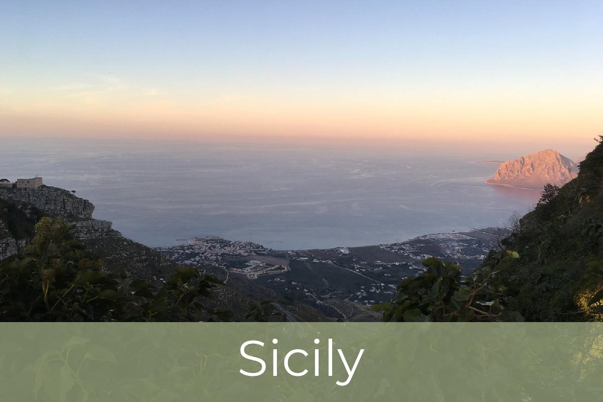 Kite potovanja. Sicilija