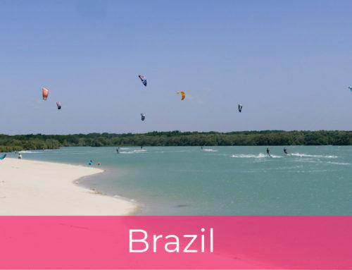 Kitesurfing u Brazilu