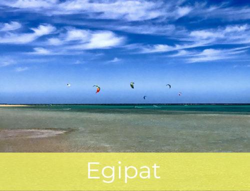 Kitesurfing u Egiptu