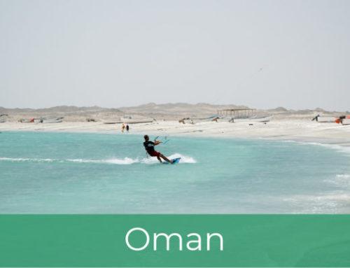 Kajtanje v Omanu
